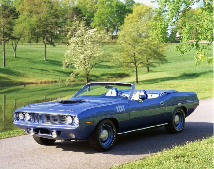 La top ten delle muscle car anni 60 e 70